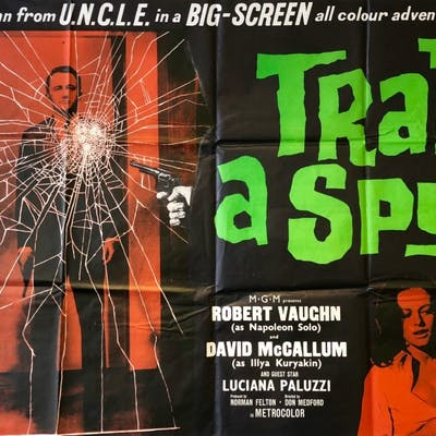 To Trap a Spy Movie Poster - Robert Vaughn - Man From Uncle | Barnebys
