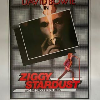 Ziggy Stardust and the Spiders From Mars Movie Poster - David Bowie