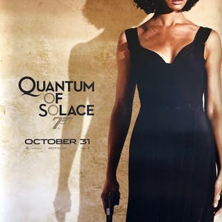 Original James Bond: Quantum of Solace Movie Poster - Olga Kurylenko