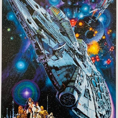 Original Star Wars Episode Iv A New Hope Movie Poster Han Solo Barnebys