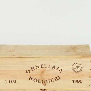 TENUTA DELL`ORNELLAIA BOLGHERI SUPERIORE ORNELLAIA 1995 (1 3 LTR., OWC) -