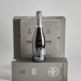 CHAMPAGNE BARONS DE ROTHSCHILD 2008 (6) -