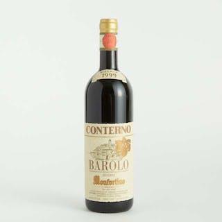GIACOMO CONTERNO BAROLO RISERVA MONFORTINO 1999 (1) WA 98 -