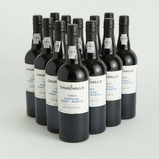 CHURCHILL'S VINTAGE PORT 1994 (12) WS 93 -