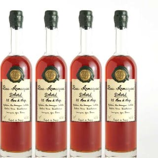 DELORD BAS-ARMAGNAC 25 YEARS (FOUR 70 CL) -
