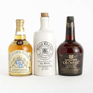 GIBSON'S FINEST CANADIAN WHISKY 12 YEARS (ONE 750 ML) ROYAL CHARTER