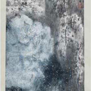 Yang Zhian (1957- ), Four Seasons - 杨志安(1957- ) 四季山水四條屏 設色紙本 立軸