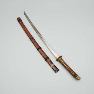 A Japanese Katana, Signed - 日本武士刀