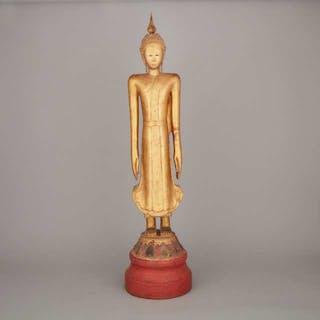 A Southeast Asian Standing Figure of Buddha - 東南亞立佛