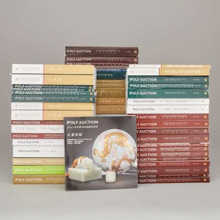 A Group of Fifty-Six Poly Auction Catalogues, 2008-2012 - 2008-20