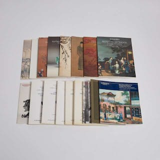 A Group of Seventeen Sotheby's Chinese Art Catalogues, 1983-1985 -