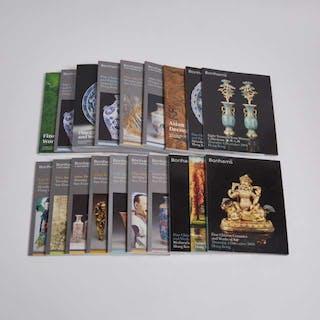 A Group of Nineteen Bonhams Asian Art Catalogues, 2005-2013 - 幫漢斯亞洲藝術拍賣圖錄一組十九本