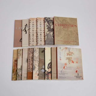 A Group of Fifteen Christie's Chinese Art Catalogues, 1991-2004 -