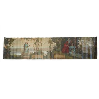 CHARLES WILLIAM JEFFERYS, O.S.A., R.C.A. - LADY OF THE LAKE MURAL