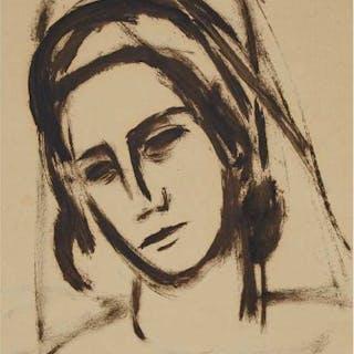 STANLEY MOREL COSGROVE, R.C.A. - PORTRAIT OF A WOMAN, 1948
