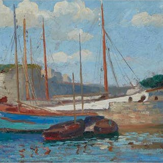 ROBERT WAKEHAM PILOT, P.R.C.A. - FISHING BOATS, CONCARNEAU