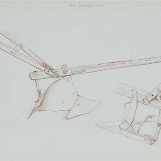 WILLIAM KURELEK, R.C.A. - THE SHANDRO PLOW, 1971
