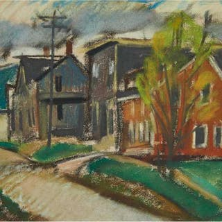 JACK WELDON HUMPHREY - OLD STREET, WEST SAINT JOHN, 1931
