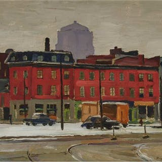 FREDERICK BOURCHIER TAYLOR, R.C.A. - BUILDINGS, NORTH SIDE, CHABOILLEZ