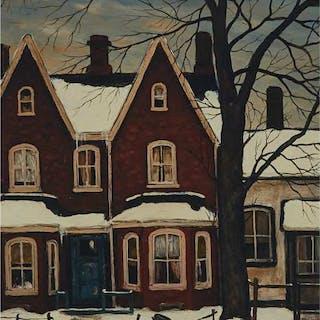 JOHN KASYN, O.S.A. - OFF CHURCH STREET, 1980