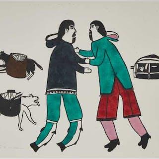 SIMON TOOKOOME (1934-2010), Baker Lake / Qamani'tuaq - SPIRIT OF THE