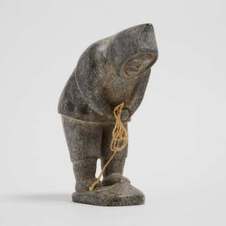 ISA OOMAYOUALOOK (1915-1976), Port Harrison / Inukjuak - HUNTING SEAL