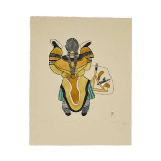 MAYUREAK ASHOONA, R.C.A. (1946-), Cape Dorset / Kinngait - THE NEW KAMIKS
