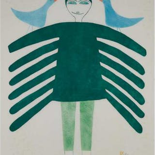 JESSIE OONARK, O.C., R.C.A. (1906-1985), Baker Lake / Qamani'tuaq