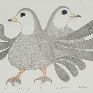 PITALOOSIE SAILA, R.C.A. (1942-), Cape Dorset / Kinngait - DUET