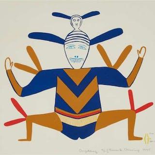 JESSIE OONARK, O.C., R.C.A. (1906-1985), Baker Lake / Qamani'tuaq - ANGUTKOQ