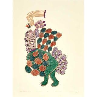 PITSEOLAK ASHOONA, O.C., R.C.A. (1904-1983), Cape Dorset / Kinngait