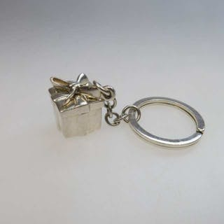 Tiffany & Co. Sterling Silver Key Ring -