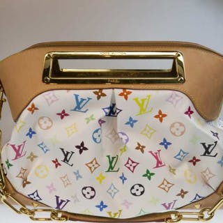 Louis Vuitton Multi-coloured Monogram Judy Handbag GM -
