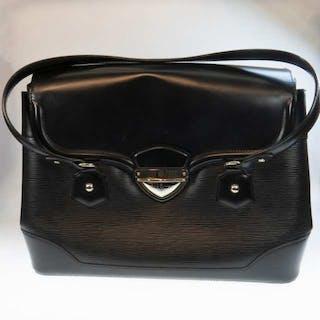 Louis Vuitton Bagatelle Epi Leather Noir Handbag GM -
