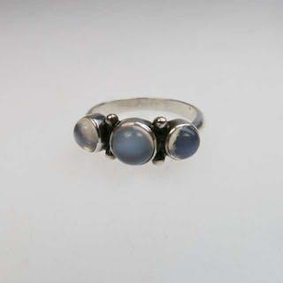 Georg Jensen Danish Sterling Silver Ring -