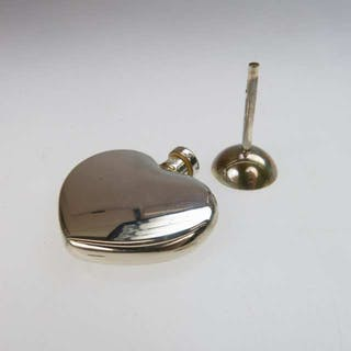 Tiffany & Co. Sterling Silver Heart-Shaped Perfume Vial -