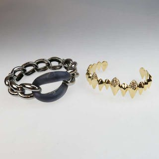 Two Alexis Bittar Bangles -