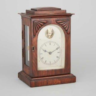 Small William IV Rosewood Bracket Clock, c.1840 -