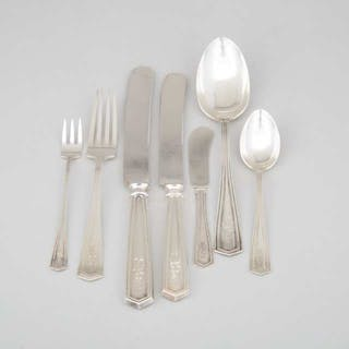 American Silver 'Brandon' Pattern Flatware, Simpson, Hall, Miller