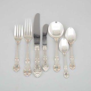 Canadian Silver 'Laurentian' Pattern Flatware, Henry Birks & Sons