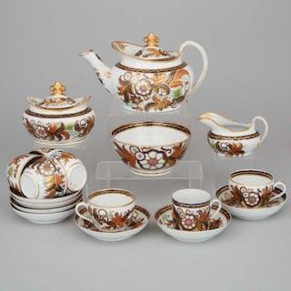 New Hall Japan Pattern Tea Service, c.1810 -