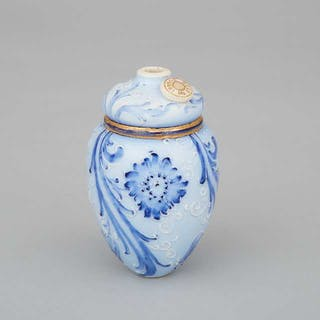 Macintyre Moorcroft Florian Lamp Counter-Weight, c.1900 -
