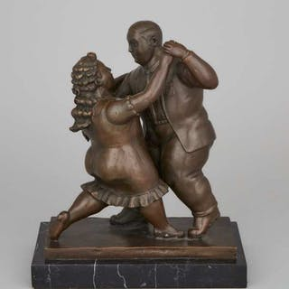 After Fernando Botero - THE DANCE