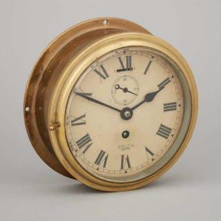 Smith Empire Brass Marine Chronometer, early/mid 20th centur -