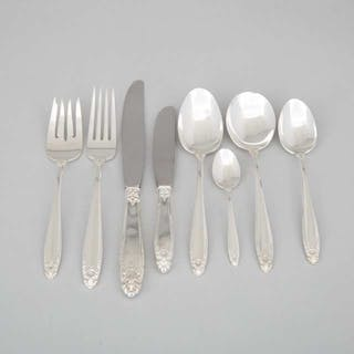 American Silver 'Prelude' Pattern Flatware Service, International