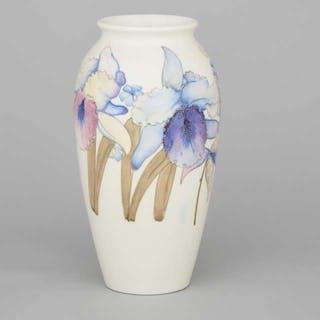 Moorcroft Orchids Vase, c.1940 -