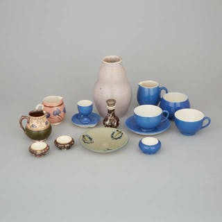 Group of Macintyre and Later Moorcroft Mainly Tablewares, late 19th/