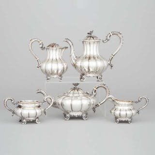 Canadian Silver Tea and Coffee Service, Henry Birks & Sons, Montreal