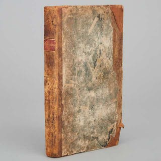 [Early American Bindings} Madame de Genlis - BELISARIUS; A HISTORICAL ROMANCE