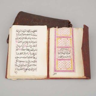 Islamic Prayer Manuscript, 19th century -
